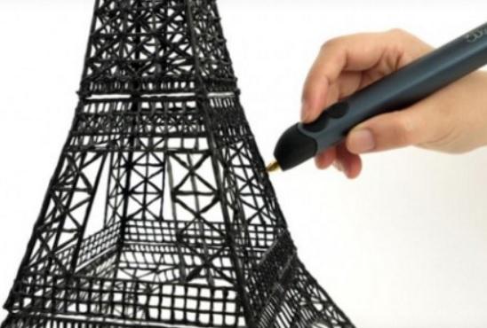 3D pero - modelování